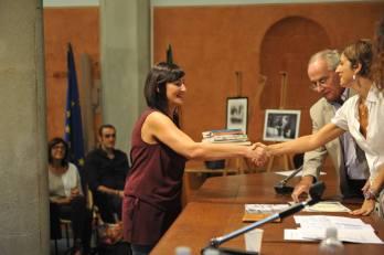 """Premiazione concorso """"Fuori dal Tempo"""" con Athos Bigongiali, presidente della giuria"""
