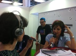 Intervista in radio al Salone del Libro di Torino