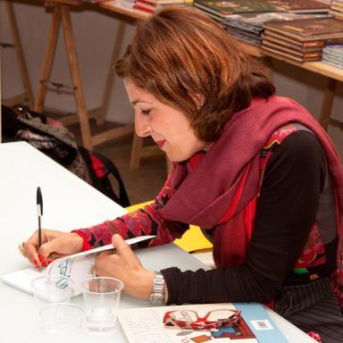 Firma copie alla libreria Gulliver, Livorno