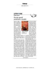Il fogliaccio recensisce Carosello in San Rossore