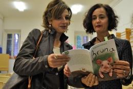 Con la maestra Ilaria