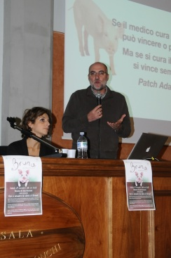 Il veterinario Marco Verdone