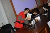 Con Daniela Bertini