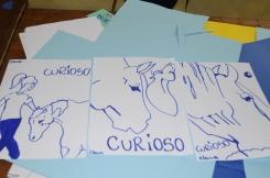 """I disegni dei bambini sordomuti realizzati durante l'iniziativa """"Capirsi senza parole"""" a Coltano"""