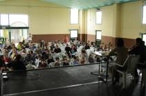 Presentazione con le scuole di Zerbolò - Pavia