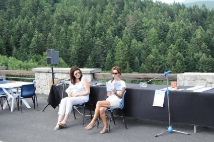 All'Abetone, con Sara Ferraioli