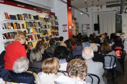 La prima presentazione alla libreria Ubik - Pisa, un grandissimo successo!
