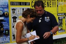 Con Marco Bravi - ENPA alla Dog Beach di San Vincenzo