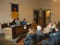 A Cutigliano, nella sala comunale