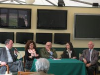 All'ippodromo, con Renzo Castelli e Valeria Caldelli