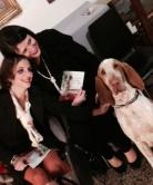 Con Sara Ferraioli e Cirano