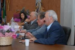 I relatori: il presidente del parco Lunardi, il direttore di Cavallo Magazine Palumbo e il giornalista Renzo Castelli