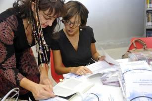 Con Daniela Bertini alla SMS Biblio