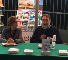 Con il filosofo Ermanno Bencivenga alla libreria Feltrinelli di Pisa